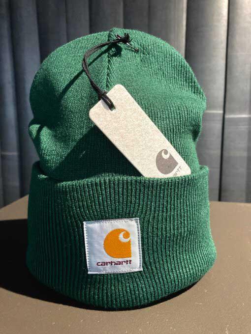 Carhartt, Acrylic, Watch, Hat, Strickmütze, Bottle, Gross real wear,Dunkelgrün,