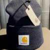Acrylic Watch Hat, Carhartt, Beanie, Gross real wear, Strickmütze, Navy, Dunkelblau