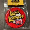 Lewis Leathers, Patch, Aufnäher, 1970 Logo, Gross real wear, England, London