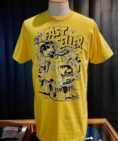 Lowbrow, Weirdo, Monster, Van, T-Shirt, Fast Seller-Gross real wear, Muenchen, Gelb, Mihae Kovacec31