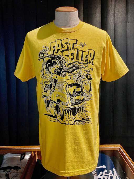 Lowbrow, Weirdo, Monster, Van, T-Shirt, Fast Seller-Gross real wear, Muenchen, Gelb, Mihae Kovacec31