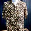 Star of >Hollywood, Leopard, Shirt, Rayon, Viscose, Gross real wear, Toyo Enterprise, Light Brown, SH38380