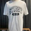 Stüssy, 80-20, T-Shirt, Baumwolle, Cotton, Gross real wear, Weiß, White
