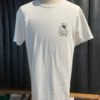 Stüssy, Kingston, Chapter, T-Shirt, Baumwolle, Gross real wear, weiß