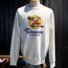 Buzz Rickson's 334Th Fighter Bomber Sweatshirt, Crewneck, Gross real wear München, Weiß