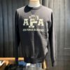 Buzz Rickson's Air Force Academy Sweatshirt, Crewnecksweat, Gross real wear München, Black, Schwarz