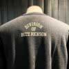 Buzz Rickson's Air Force Academy Sweatshirt, Crewnecksweat, Gross real wear München, Black, Schwarz