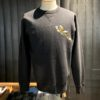 Buzz Rickson's Flying Tiger Sweatshirt, Crewneck, Gross real wear München, Black
