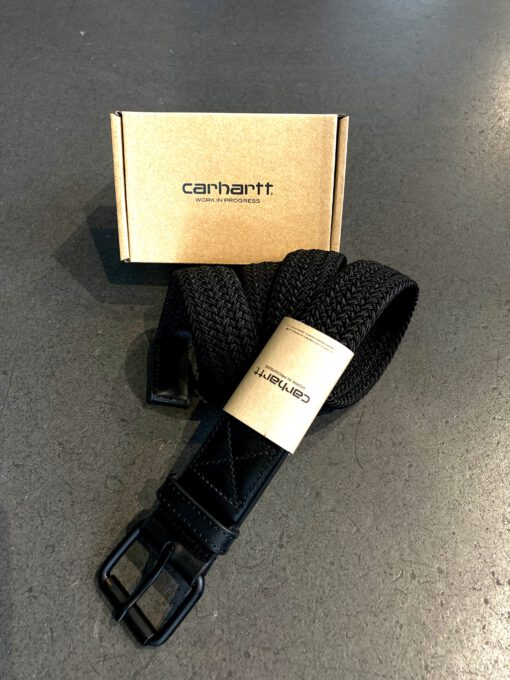 Carhartt, Jackson Belt, Gürtel, Black, Gross real wear, I015807.89.90.03