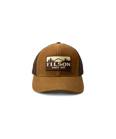 Filson logger Mesh Cap, Gross real wear München, Truckercap, Darktan