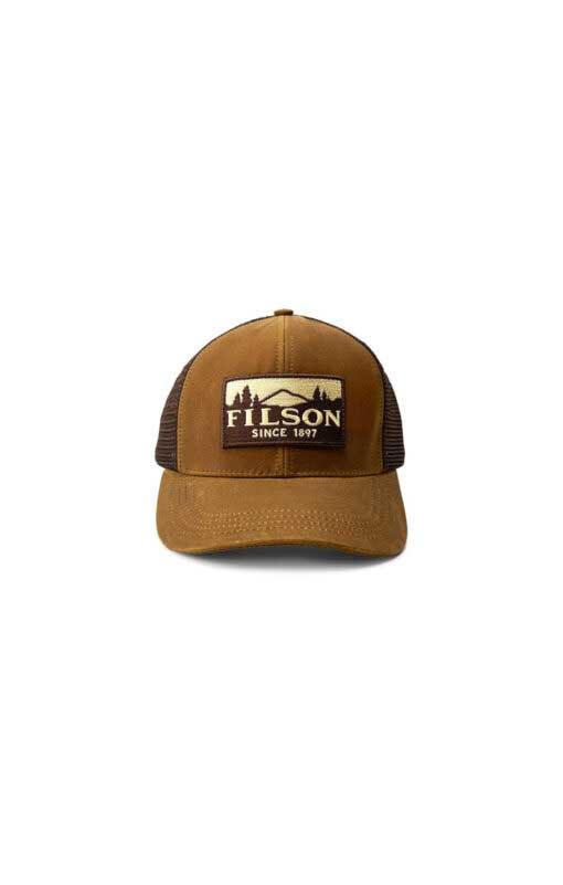 Filson logger Mesh Cap, Gross real wear München, Truckercap, Darktan