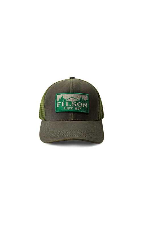 Filson logger Mesh Cap, Gross real wear München, Truckercap, Ottergreen