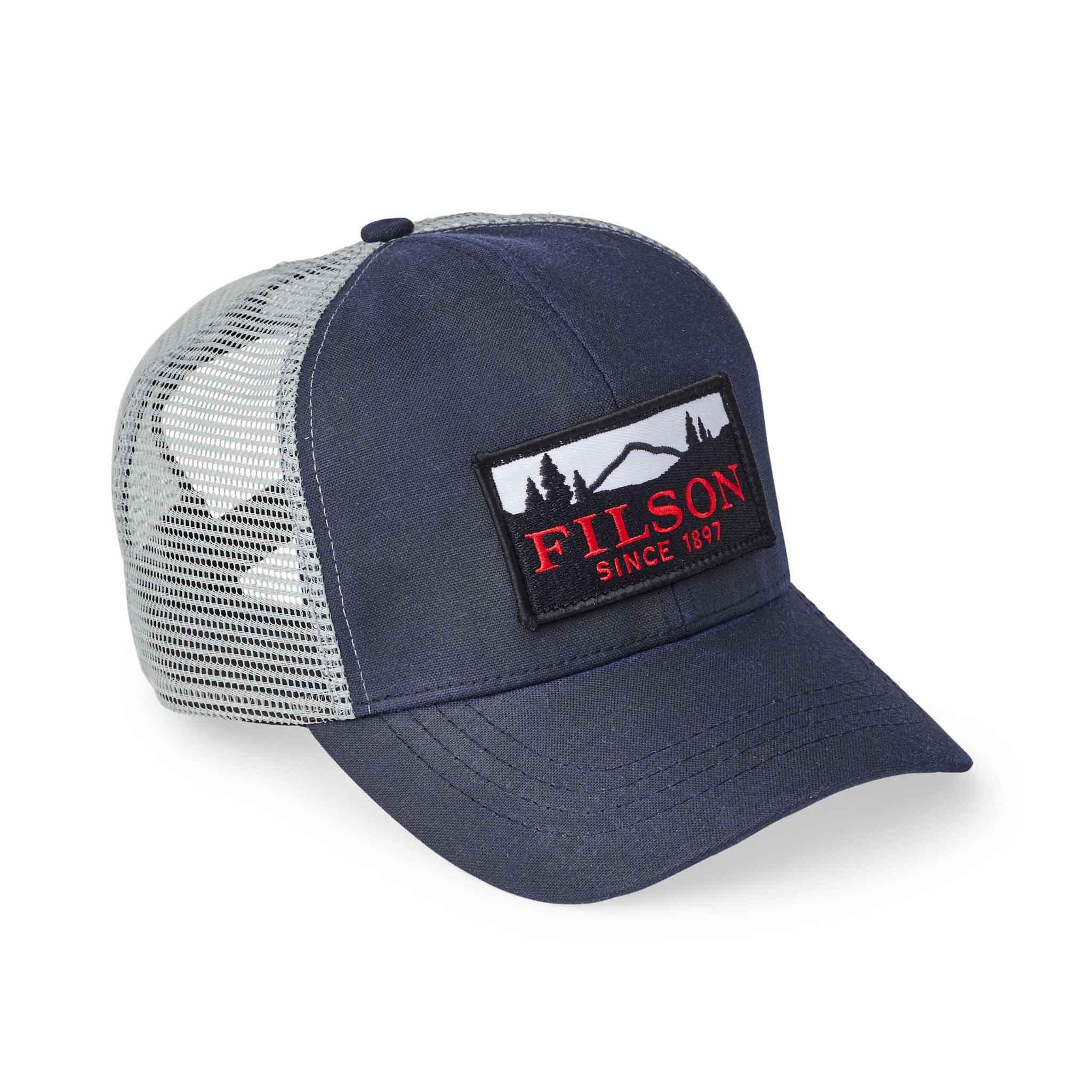 Filson logger Mesh Cap, Gross real wear München, Truckercap, Navy