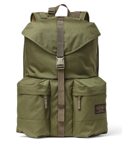 Filson Nylon Ripstop Backpack, Rucksack, Gross real wear München, Olive
