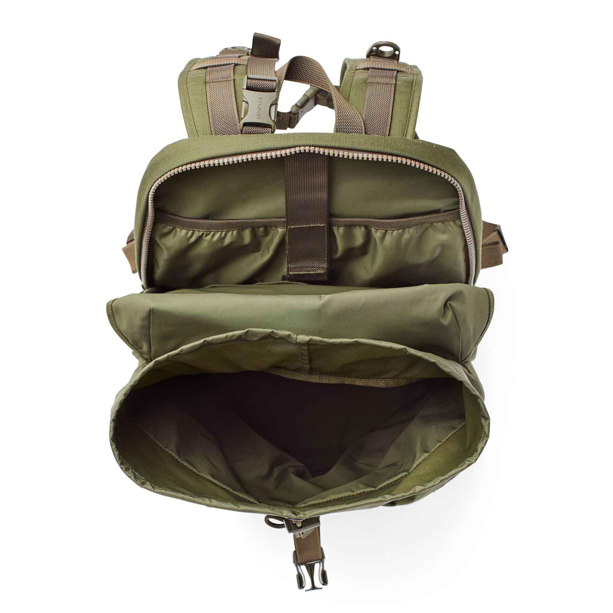 Filson Nylon Ripstop Backpack, Rucksack, Gross real wear München, Olive