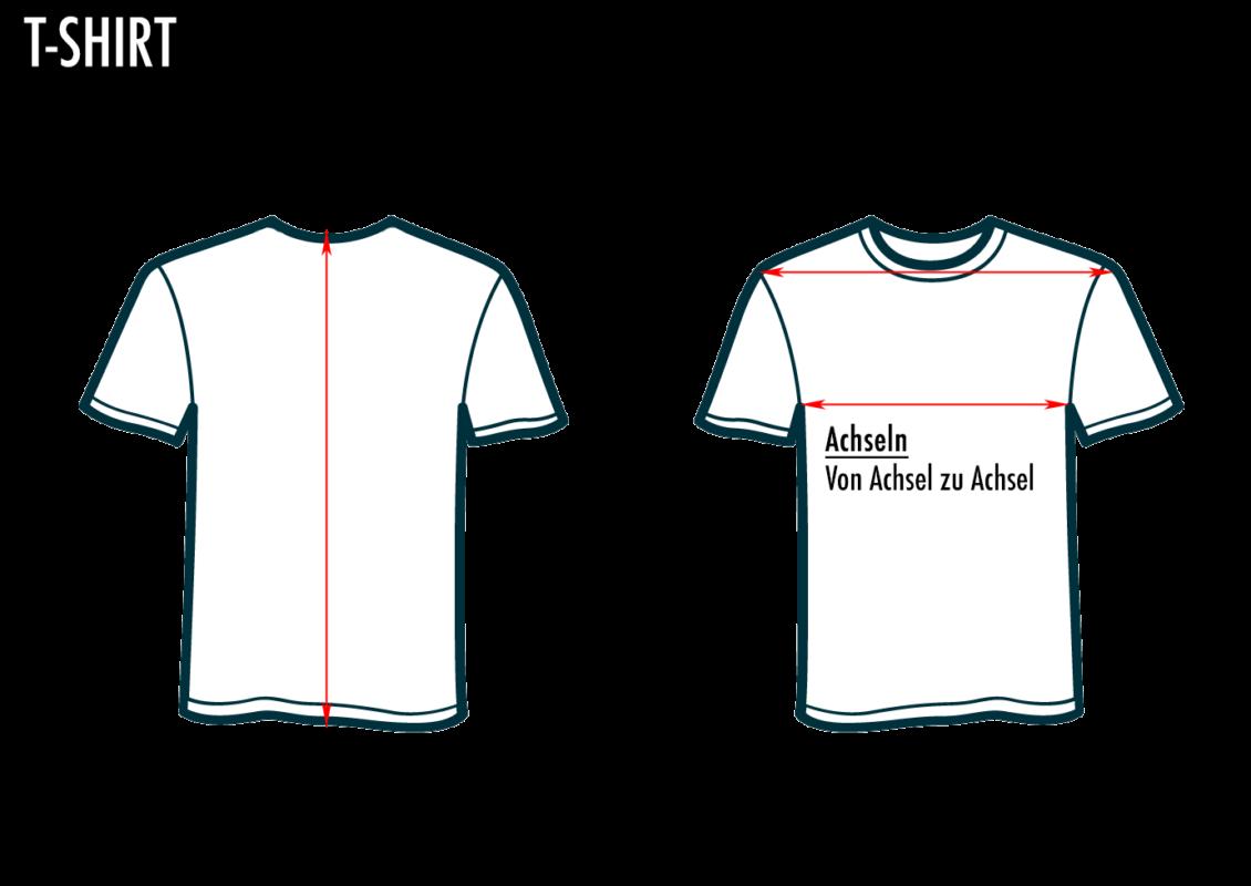 Gross real wear, Weirdo T-Shirt Sizeguide