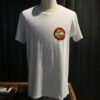 Lewis Leathers 70's Logo, T-Shirt, Cotton, Gross real wear, White, Weiß