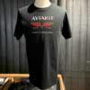 Lewis Leathers, Aviakit Logo, T-Shirt, Cotton, Gross real wear, Black, London