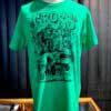 Lowbrow Weirdo T-Shirt, Ford Mustang, Gross Real Wear, Design von Mihael Kovacec, Farbe grün