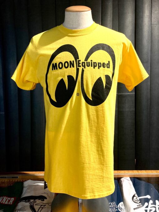 Moon, Equipped, Mooneyes, Gross real wear, Yellow, Gelb