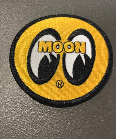 Moon, Patch, Mooneyes, Yellow, Gross real wear