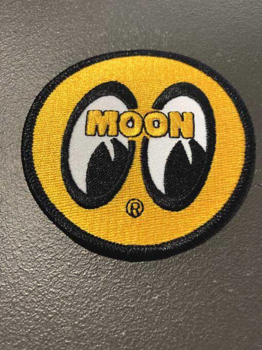Moon, Patch, Mooneyes, Yellow, Gross real wear