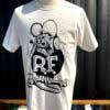 Rat Fink, Ed Big Daddy Roth, Weirdo T-Shirt, Gross real wear Muenchen, Weiss, White