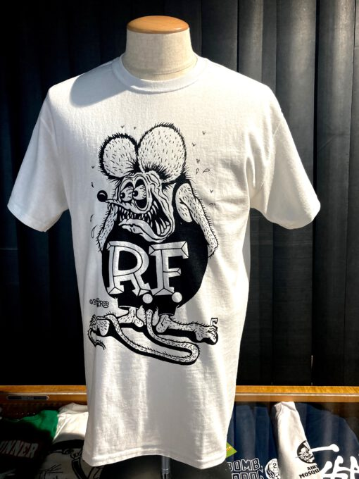 Rat Fink, Ed Big Daddy Roth, Weirdo T-Shirt, Gross real wear Muenchen, Weiss, White