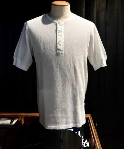 Schiesser, Knüpftricot, Henley, T-Shirt-, 1/2 Arm, Knopfleiste, Gross real wear, Jaques, Weiß, 169672