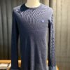 Schiesser, Revival, Langarm, Friedrich, Navy, Doppelrippe, Longsleeve, Gross real wear, 171938-815