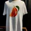 Stüssy, Orange Slice, T-Shirt, Baumwolle, Cotton, Gross real wear, Weiß, White