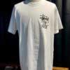 Stüssy, Top Form, T-Shirt, Baumwolle, Cotton, Gross real wear, Weiß, White