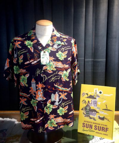 Sun Surf Aloha Hawaii Hawaiian Shirt, Rayon, Viscose, Gross real wear München, Lila, Purple, SS38313