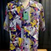 Sun Surf Pictograph Hawaiian Shirt, Hawaii Hemd, Gross real wear München
