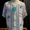 Sun Surf, Lighthouse, Hawaiian Shirt, Rayon, Viscose, Gross real wear, White, Weiss, SS37791