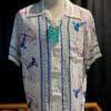 Sun Surf, Lighthouse, Hawaiian Shirt, Rayon, Viscose, Gross real wear, White, Weiss, SS37791