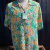 Sun Surf, Sparrows Hideout Bamboo, Hawaiian Shirt, Rayon, Viscose, Gross real wear, Green, SS38039