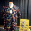 Sun Surf, Torch Fisherman, Hawaiian Shirt Rayon, Viscose, Gross real wear, Navy, SS38316