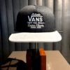 Vans, Off The Wall, Trucker Cap, Gross real wear, Black
