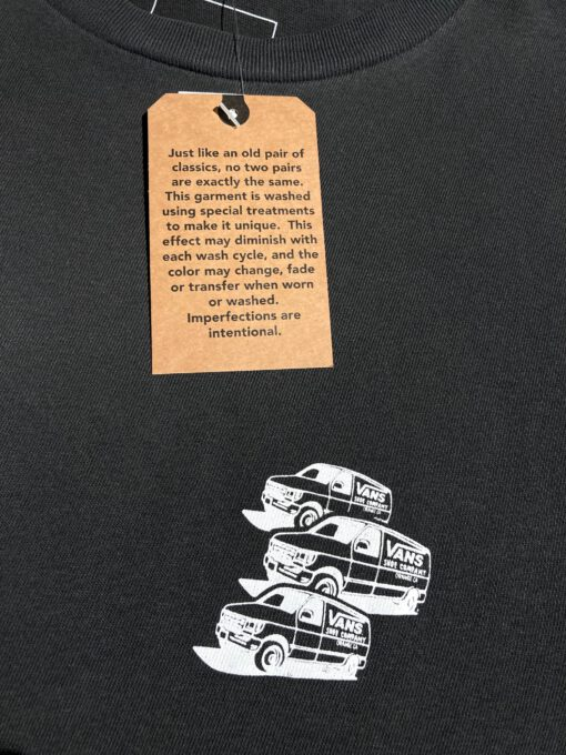 Vans T-Shirt Vintage 66, I Love My Vans, Gross real wear Muenchen, Black, White