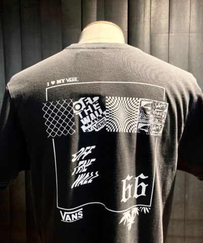 Vans T-Shirt Vintage 66, I Love My Vans, Gross real wear Muenchen, Black, White