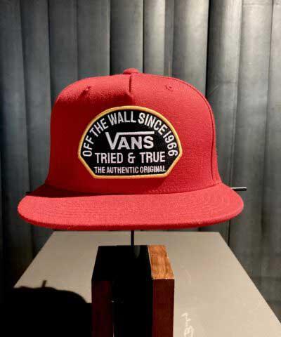 Vans, Tried and True, Baseball, Cap, Gross real wear, Rot