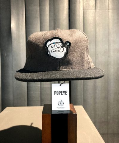 Filson Popeye Baseball Cap Wolle Grau, Schwarz, Gross real wear München, limited Edition