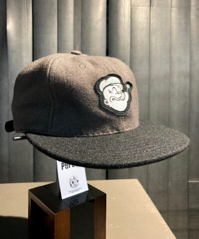 Filson Popeye Baseball Cap Wolle Grau, Schwarz, Gross real wear München, limited Edition