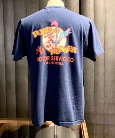Cheswick Road Runner Motor Service T-Shirt, Gross real wear München, Navy