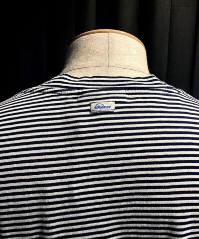Schiesser Revival Josef T-Shirt gestreift Navy, Baumwolle, Gross real wear München