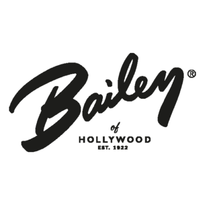 Bailey of Hollywood Logo, Gross real wear München