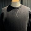 Buzz Rickson's Set-In Crewneck Sweat Shirt, Gross real wear München, Black