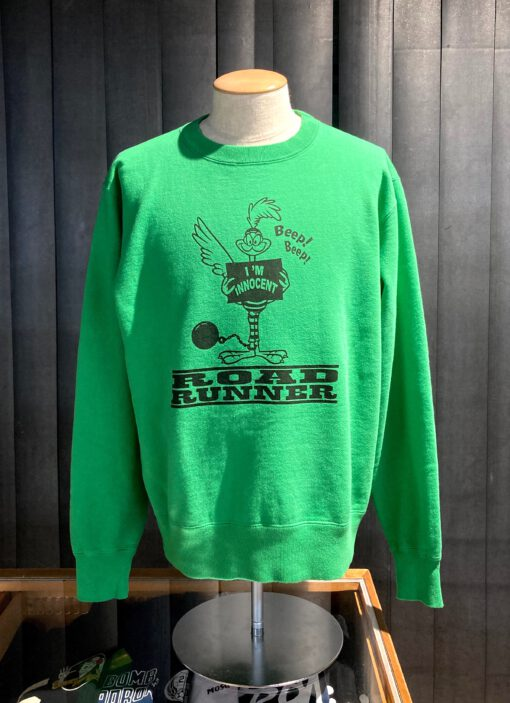 Cheswick Road Runner Innocent Crewneck Sweat Shirt, Gross real wear München, Green