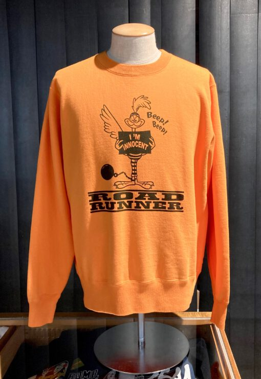 Cheswick Road Runner Innocent Crewneck Sweat Shirt, Gross real wear München, Orange